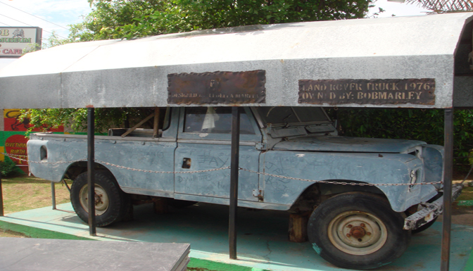 Photo of Truck Owned By Bob Marley